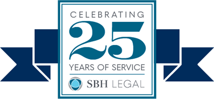 SBH Legal 25th Anniversary
